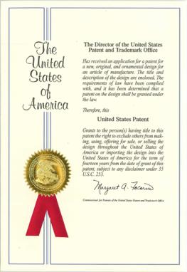 亞源集團榮獲美國發明專利證書