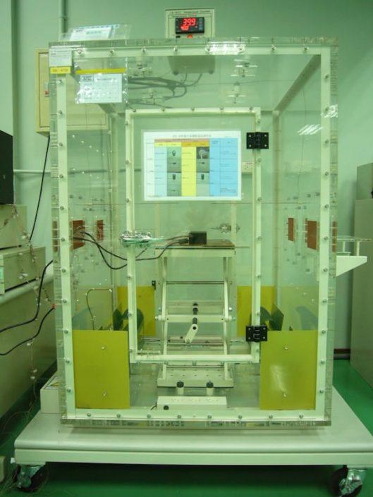自然對流量測及加熱裝置