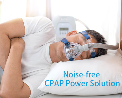 APD- Noise-free CPAP power solution